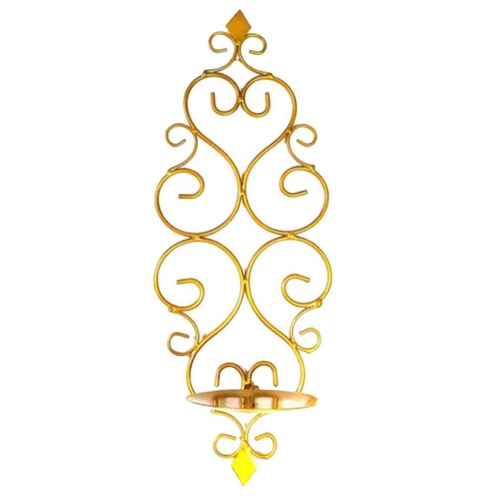 Wedding - Gold - Wall Candle Holder - candleslovers.com