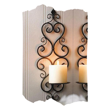 Wedding- Wall Candle Holder
