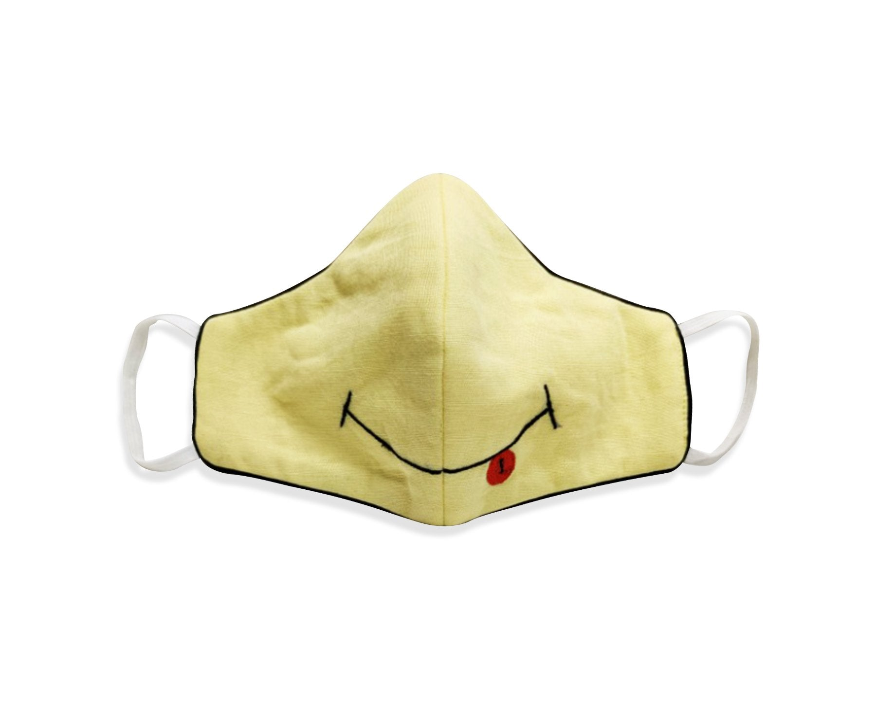 Kids Cotton Linen with Embiodery 3 Layer Reusable Mask