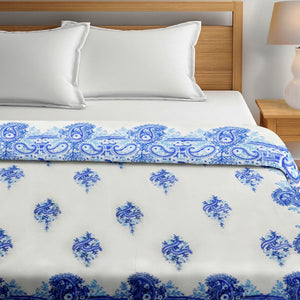 100% Cotton HandBlock Print Double Bed Dohar