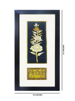 "Load image into Gallery viewer, Dokra Handicraft Tribal Art Wall Hanging Happiness in Togetherness with Fiber Frame 10.5""x21.5"""
