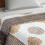 Load image into Gallery viewer, 100% Cotton HandBlock Print Double Bed Quilt
