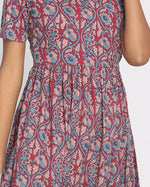 Load image into Gallery viewer, 100% Cotton Ajrak Printed Long Kurta Multicolour