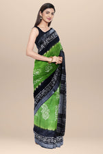 Load image into Gallery viewer, Cotton Multi color Batik Saree