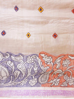 Load image into Gallery viewer, Hand Kantha Sraee on Tussar Silk