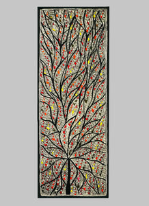 Tree of Life Madhubani Handmade Painting