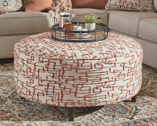 Amici Signature Design by Ashley Ottoman image