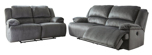 Clonmel Signature Design Contemporary Power Reclining 2-Piece Living Room Set image