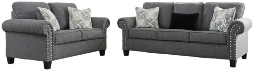 Agleno Benchcraft 2-Piece Living Room Set image