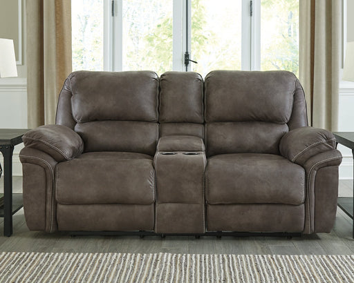 Trementon Benchcraft DBL REC PWR Loveseat wConsole image