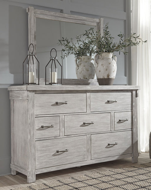 Brashland Signature Design by Ashley Dresser and Mirror image