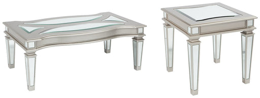 Tessani Signature Design 2-Piece Table Set image