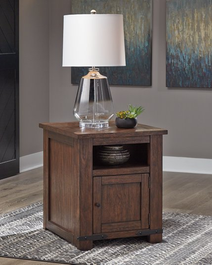 Budmore Signature Design by Ashley End Table image