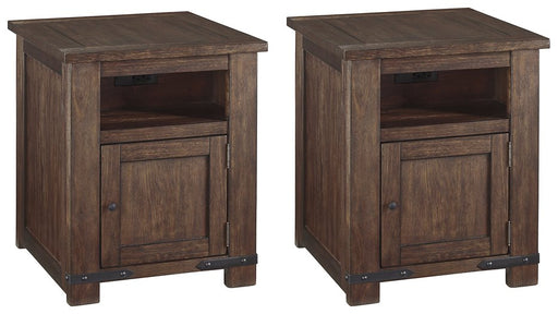 Budmore Signature Design 2-Piece End Table Set image