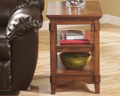 Cross Island Signature Design by Ashley End Table Chair Side image