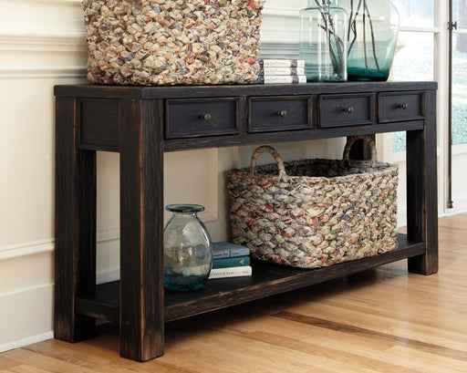 Gavelston Signature Design by Ashley Sofa Table image