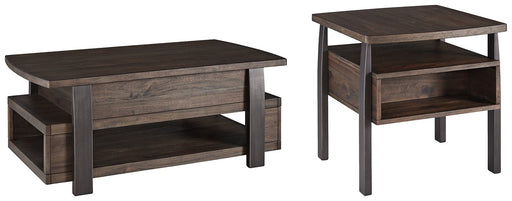 Vailbry Signature Design 2-Piece Table Set image