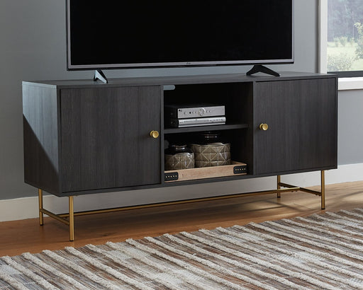 Yarlow Signature Design by Ashley Large TV Stand image