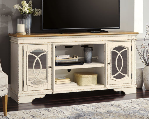 Realyn Signature Design by Ashley TV Stand image