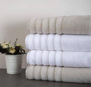 CASTELLO Home manufactures a wide selection of terry product. They are all finished with our Cloudsoft processing which increases the absorbency and softness of the product.
