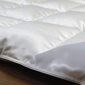 CASTELLO Home Eiderdown Collection is simply the finest in the world. The Eider Duck sheds the down for the farmers to harvest once they have left the nest. This products is extremely rare and in very Limited quantity.