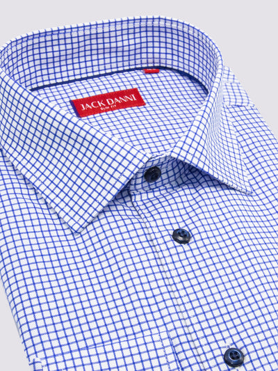 Blue Check Shirt Toronto