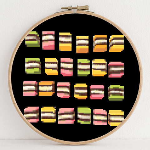 Liquorice instant download PDF cross stitch pattern