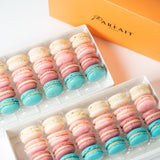 Garden Bloom Macaron Box of 48