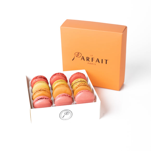 Fruit Pack Macaron Box of 12