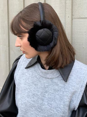 Ear Muffs Rabbit Fur