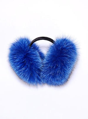 Ear Muffs Fox Fur