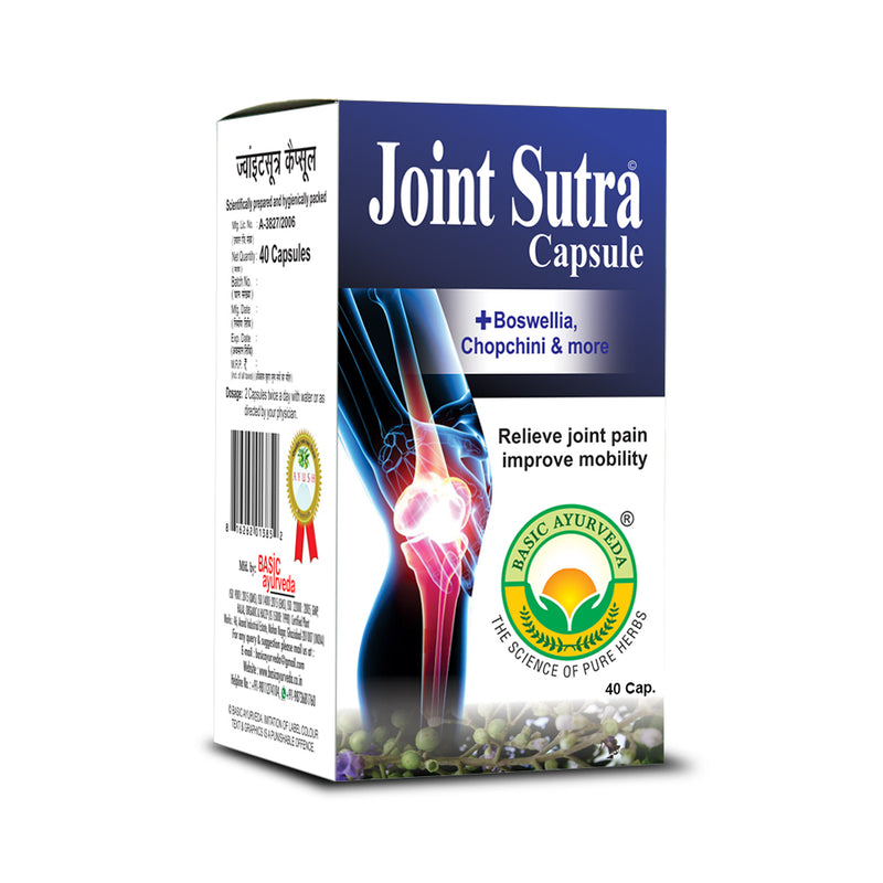 Basic Ayurveda Joint Sutra 40 Capsule
