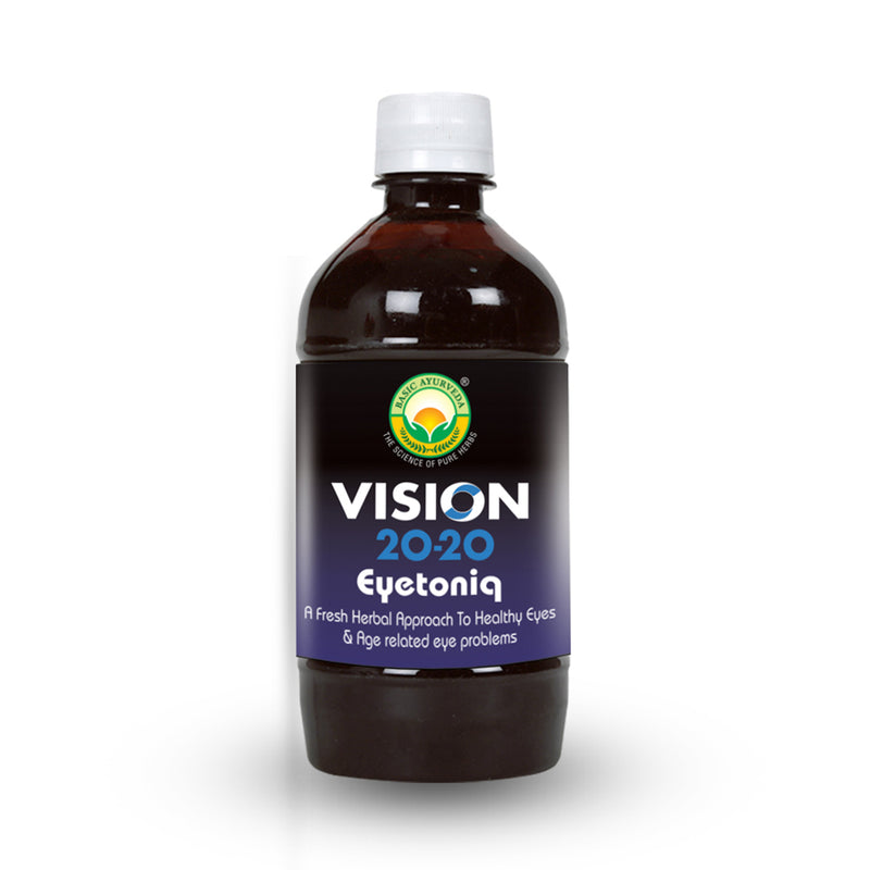 Basic Ayurveda Vision 20-20 Eyetoniq 450 Ml