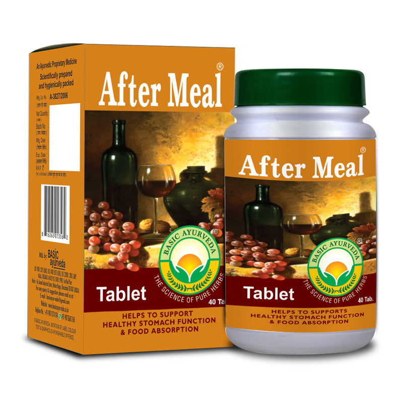 Basic Ayurveda After Meal 40 Tablet