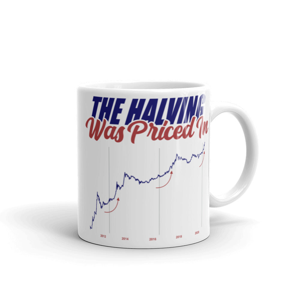 The Halving Was Priced In Mug