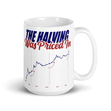 Load image into Gallery viewer, The Halving Was Priced In Mug