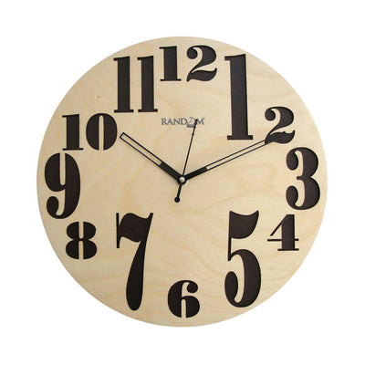 Real (11.5 Inches) Wooden Wall Clock - MANERAA