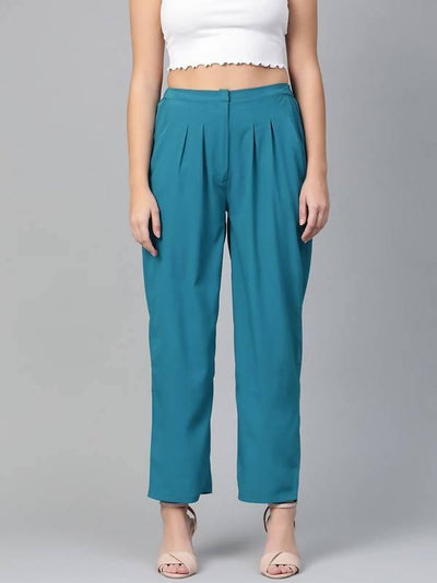 Women's Pleated Trouser - MANERAA