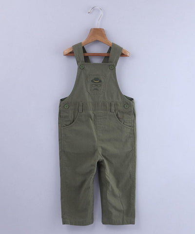 Beebay Hipster Embroidered Dungaree - MANERAA
