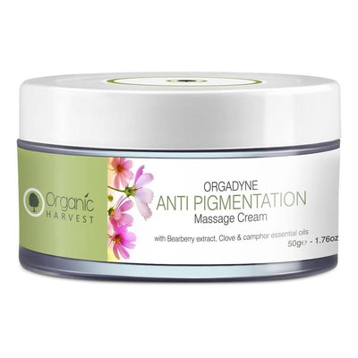 Organic Harvest Anti Pigmentation Massage Cream, 50gm - MANERAA
