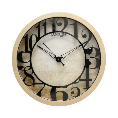 Desire (10 Inches) Wooden Wall Clock - MANERAA