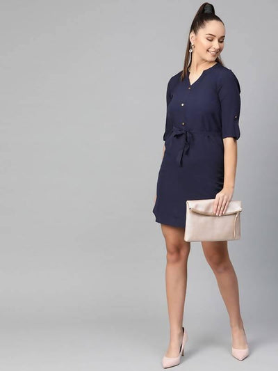 Women's Shirt Dress - MANERAA