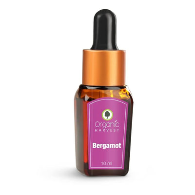 Organic Harvest Bergamot Essential Oil, 10ml - MANERAA