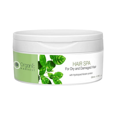 Organic Harvest Hair Spa for Dry and Damaged Hair, 200ml - MANERAA