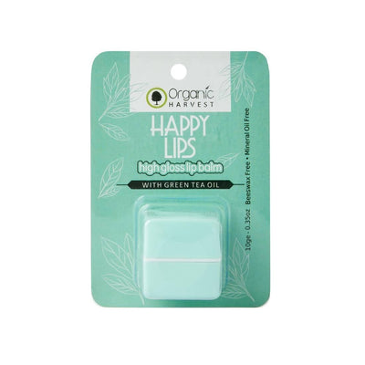Organic Harvest High Gloss Lip Balm(Green Tea), 10g - MANERAA