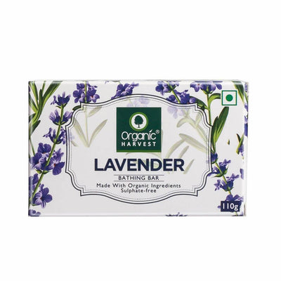 Organic Harvest Lavender Bathing Bar, 110g - MANERAA
