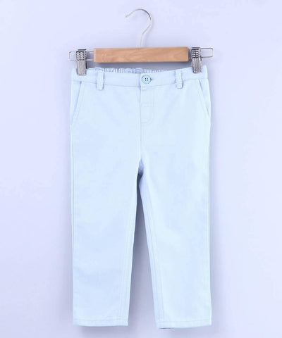 Powder Blue Trouser - MANERAA