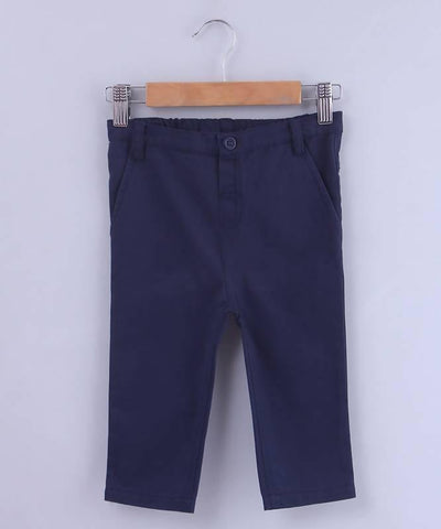 Beebay Navy Chino Trouser - MANERAA