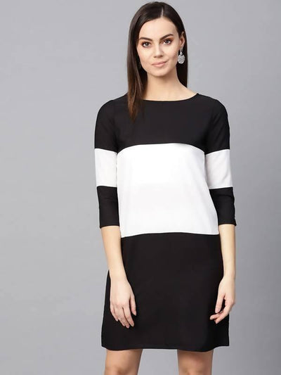 Women's Women's Broad Stripe Dress - MANERAA