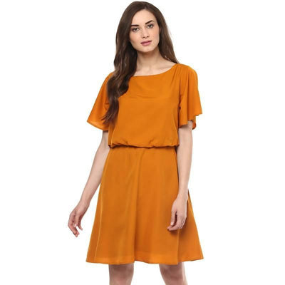Women's Women's Balloon Flare Dress - MANERAA